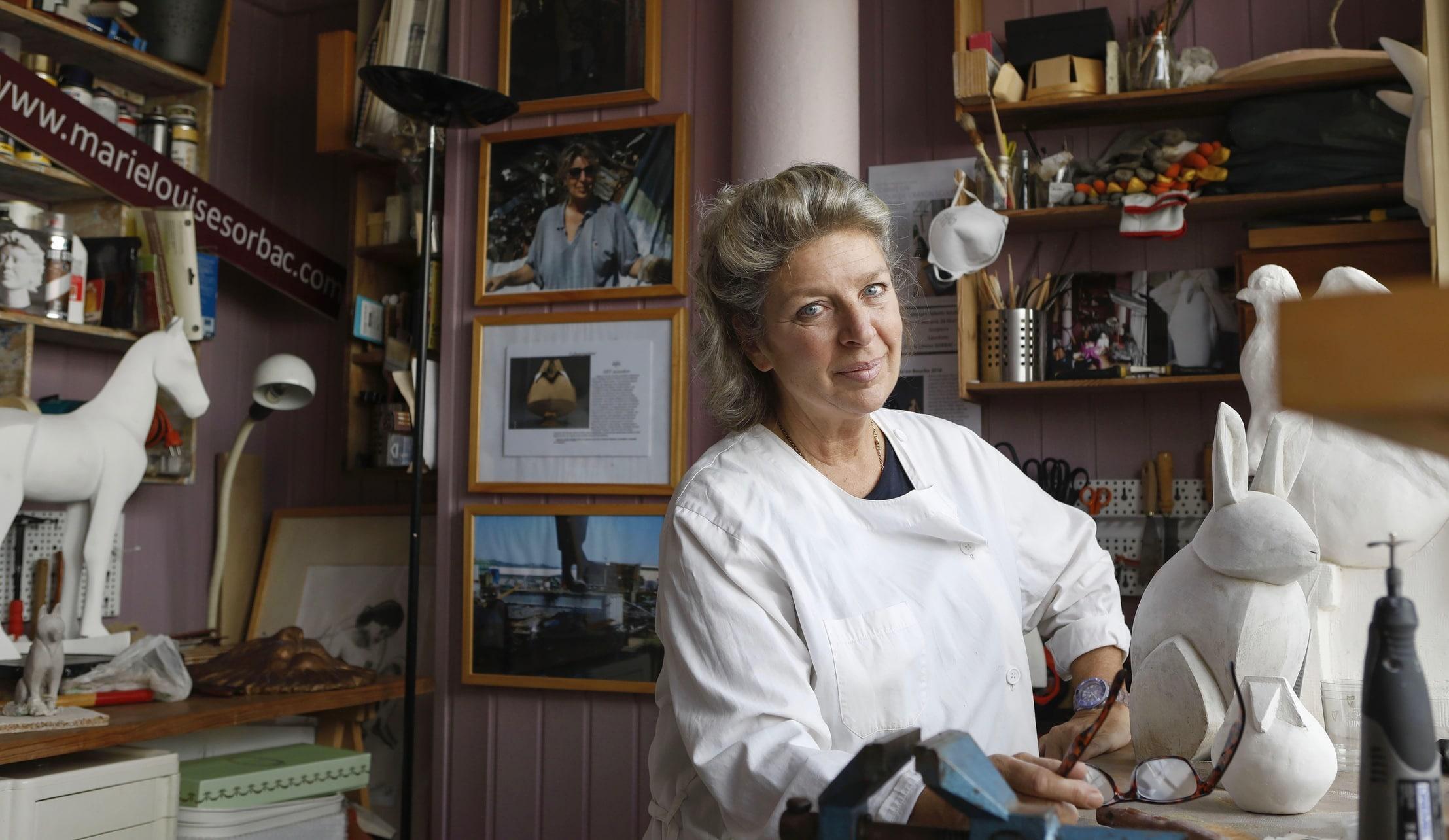 Marie Louise Sorbac, 50 ans pour devenir soi même: Artiste